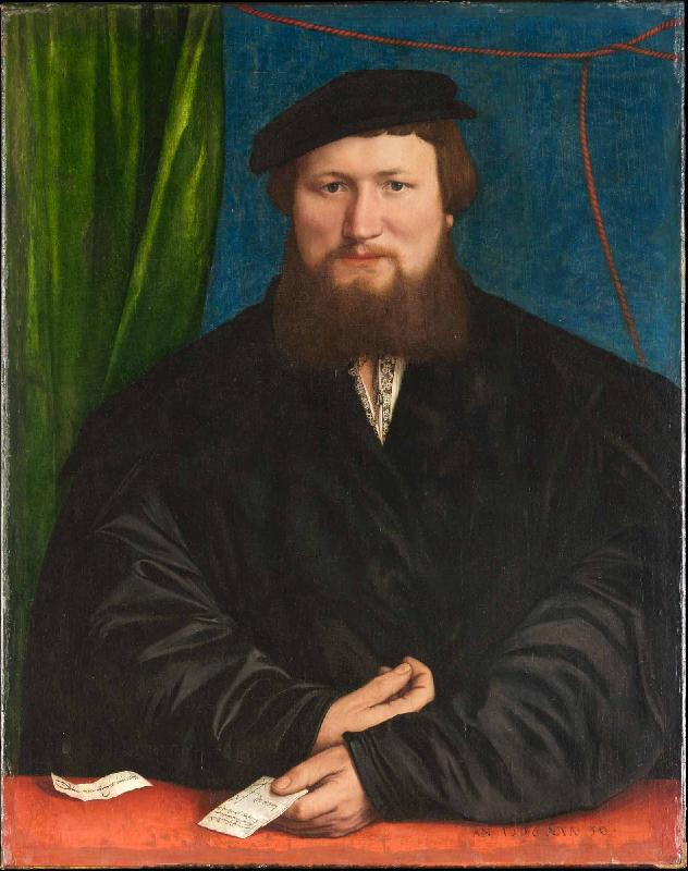 Hans holbein the younger Portrait of Derich Berck