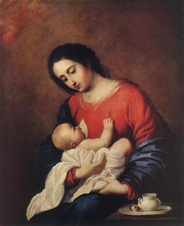 Francisco de Zurbaran Madonna with Child