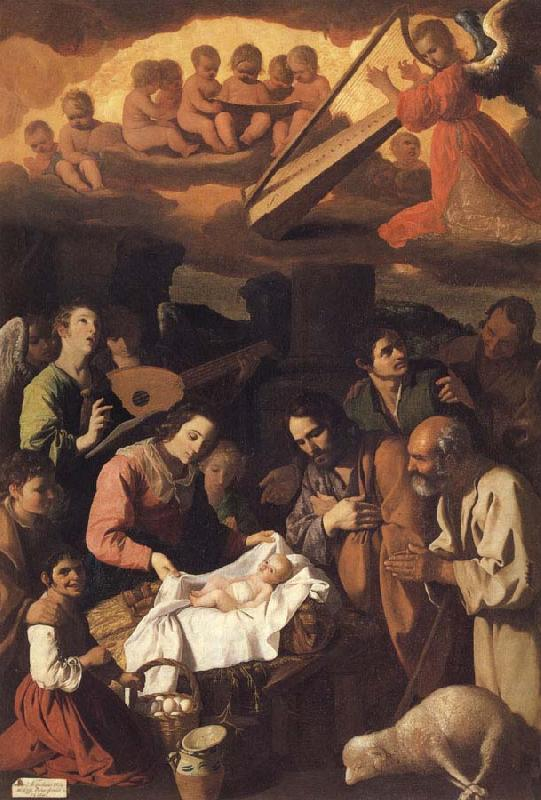 Francisco de Zurbaran Adoration of the Shepherds
