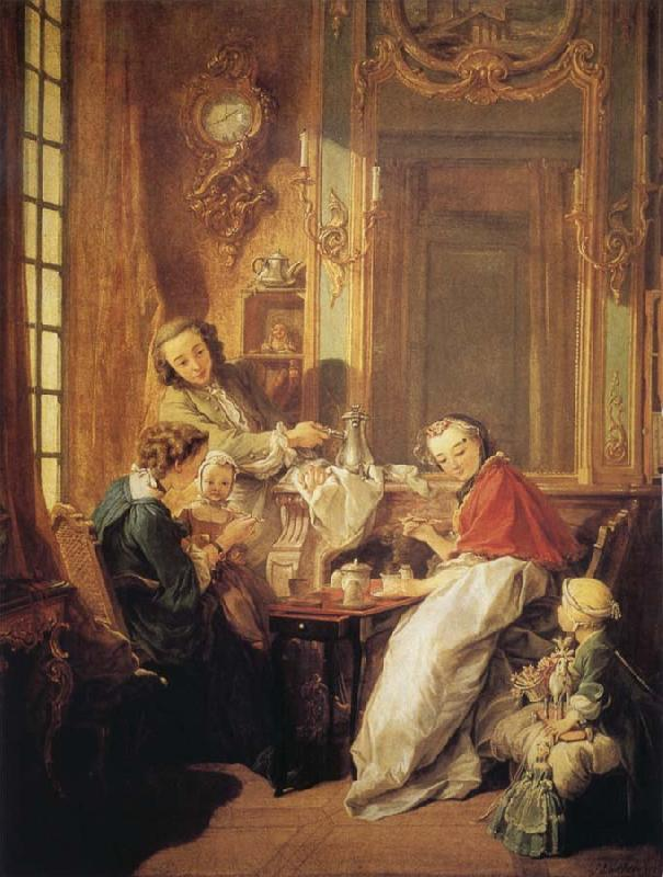 Francois Boucher The Breakfast
